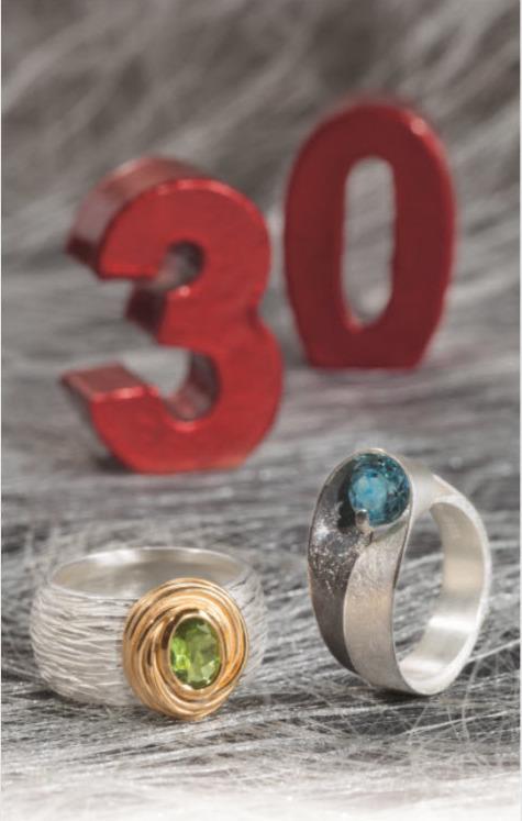 30 Jahre Edel & Stein - Schmuckdesign in Esslingen